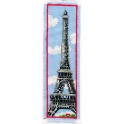 Vervaco | kit  broderie  point de croix  compté  marque-page  Paris | Vervaco  0011269 | Broderiedumonde