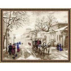 Riolis  kit Old Street | Riolis  1400 | Broderie du monde