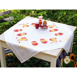 Vervaco | kit  Nappe  Joyeuses Pâques | Vervaco  0149070 | Broderie du monde
