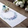 Vervaco | kit  Chemin de table  Splendeur de papillons | Vervaco  0144407 | Broderie du monde