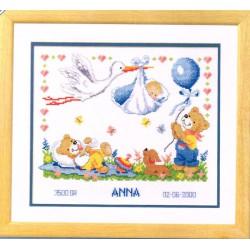 Registre de naissance  Cigogne  Vervaco  0011996