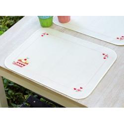 Vervaco | kit  point de croix  Sets de table  Petits gâteaux | Vervaco  0148213 | Broderie du monde