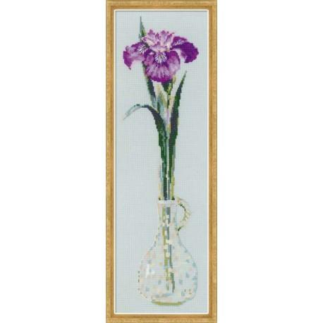 Riolis  kit King of Flowers | Riolis  1374 | Broderie du monde