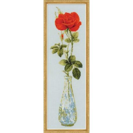 Riolis  kit Queen of Flowers | Riolis  1375 | Broderie du monde