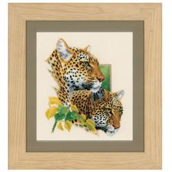 Couple  de  léopards  0144437  Vervaco