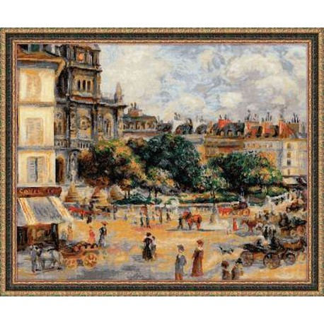Riolis  kit Square of the Trinity, Paris | Riolis  1396 | Broderie du monde