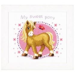 Vervaco,  kit  Mon  petit poney  0146214