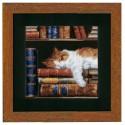Vervaco,  kit  Chat  dormant  sur  étagère