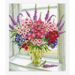 Vervaco,  kit  Bouquet  de  fleurs