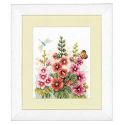 Vervaco,  kit  Roses  trémières  0143725