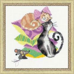 RIOLIS,  kit  Chats  et  souris