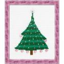 Riolis  Christmas  Tree  with  Crystal  Balls  1352