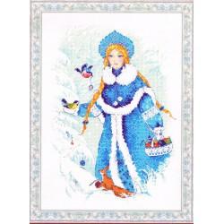RIOLIS,  kit  Snow  Maiden