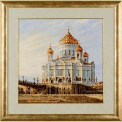 RIOLIS,  kit  Moscou,  La  cathédrale  du  Christ Sauveur