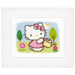 Vervaco,  kit  Printemps  Hello Kitty