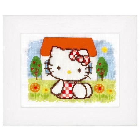 Vervaco,  kit  Eté  Hello Kitty