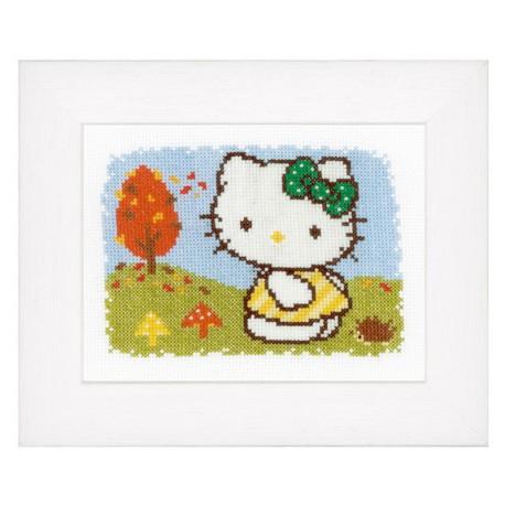 Vervaco,  kit  Automne  Hello Kitty