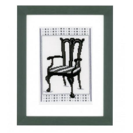 Vervaco,  kit  Chaise  Baroque II