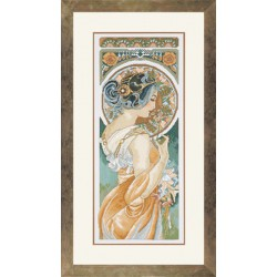 Lanarte,  kit  Art  Nouveau  by  Mucha  Primrose