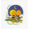 Vervaco,  kit  Baiser  de  bonne nuit  Maya  l'abeille et Willy
