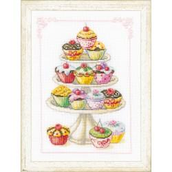 Petit  gâteaux  0011909  Vervaco