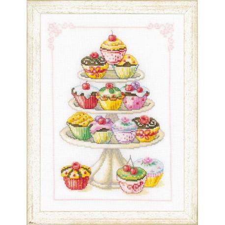 Vervaco,  kit  Petit  gâteaux