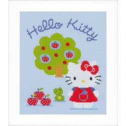Vervaco,  kit  Hello Kitty  avec  pommier