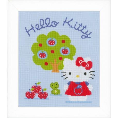 Vervaco,  kit  Hello Kitty  avec  pommier