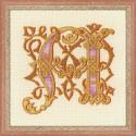 Riolis  kit  Letter  M  1292