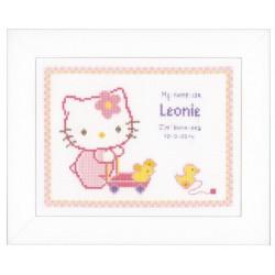 Vervaco,  kit  Hello Kitty  avec  canetons