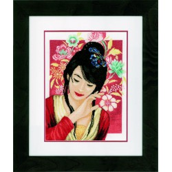 Lanarte,  kit  Asian  flower  girl