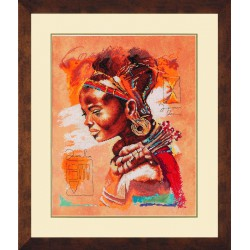 Lanarte,  kit  African  Woman