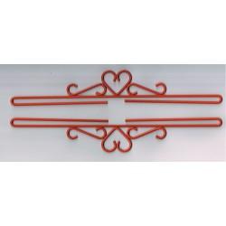 Permin,  Cintres  décoratifs  Supports  de  Broderie  40 cm