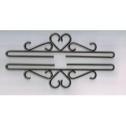 Permin,  Cintres  décoratifs  Supports  de  Broderie  métal  brillant  25 cm