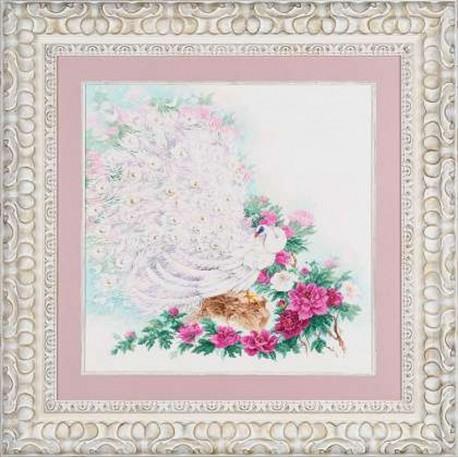 Riolis  kit Maharaja's Garden  Collection Premium  Riolis  100/030 | Broderie du monde