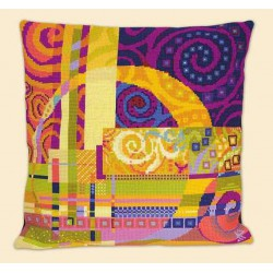 Riolis  kit Imagination Cushion | Riolis  1307 | Broderie du monde