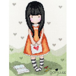 Bothy Threads  kit Gorjuss  I Gave you my Heart | Bothy Threads  XG2 | Broderie du monde