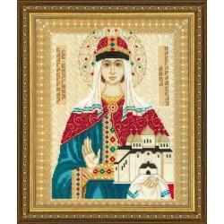 RIOLIS,  kit  Point  de  croix  St. Anna  of  Novgorod