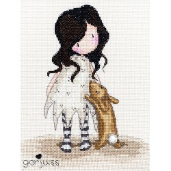 Bothy Threads  kit Gorjuss  I love you little rabbit | Bothy Threads  XG6 | Broderie du monde