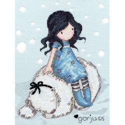 Bothy Threads  kit Gorjuss  Winter Friend | Bothy Threads  XG8 | Broderie du monde