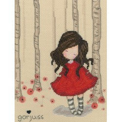 Bothy Threads  kit Gorjuss  Poppy Wood | Bothy Threads  XG19 | Broderie du monde