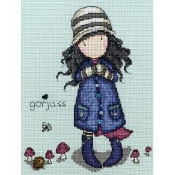 Bothy Threads  kit Gorjuss  Toadstools | Bothy Threads  XG22 | Broderie du monde