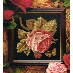 Anchor  Rose  GL494  Kit  de  Broderie  sur  canevas  imprimé