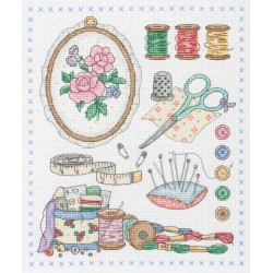 Anchor  Point  par  point  ACS29  Kit  Broderie  au  point de croix  compté