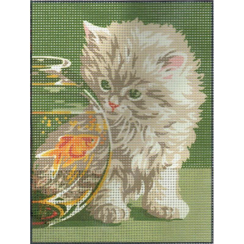 Royal paris chaton et poison rouge 9886107 00059 kit for Kit poisson rouge