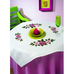 Royal Paris  kit  Nappe  Pivoines  9886301-01747  à  broder  en  points  variés