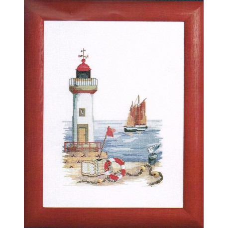 Royal Paris  Le  Phare  9880.6437.0009  kit  broderie  au  point de croix  compté