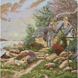 Maia  Seaside  Hideaway  5678000-01082  Kit  broderie  point de croix  compté