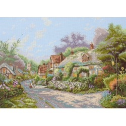 Maia  Cobblestone  Village  5678000-01104  Kit  broderie  point de croix  compté