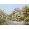 Maia  Cobblestone  Village  5678000-01104  Kit  broderie  point de croix  compté